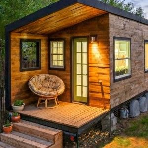 Rustic Tiny Cabin in Wyoming Lifestyle Comes Alive in All Its Splendor!