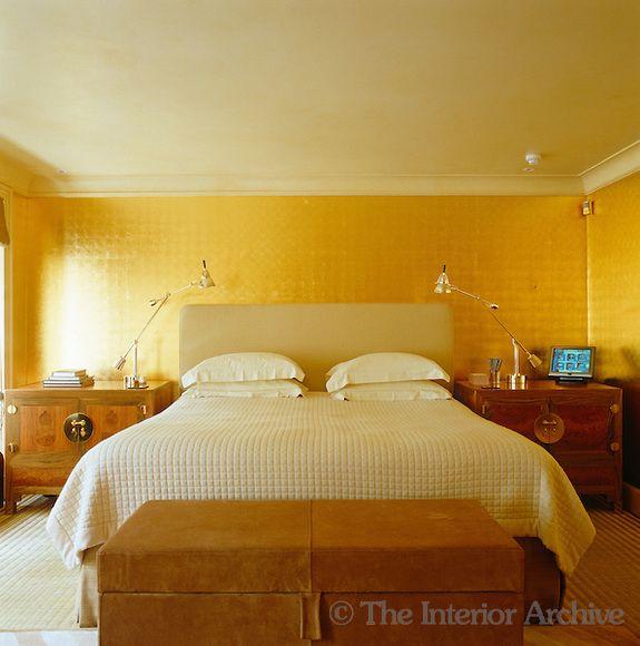 John stefanidis in the master bedroom the contemporary for John stefanidis interior design