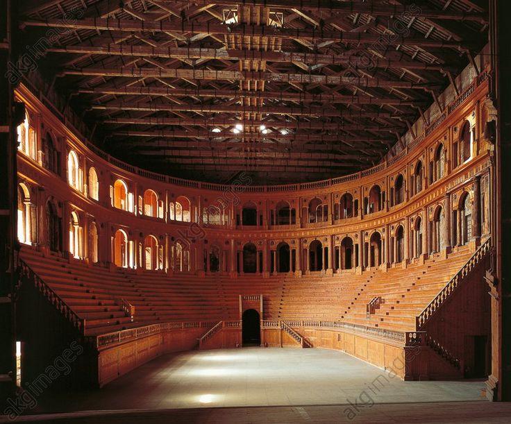 AKG-imágenes - Teatro Farnese, Parma