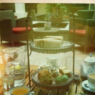 Afternoon tea at Hotel Du Vin