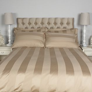Northern Nights 400TC Wide Stripe Egyptian Cotton 6PC Duvet Set from QVC - the only way to sleep!