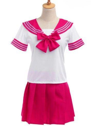Uniforme escolar japonês 2016 mais novo Sexy trajes de marinheiro 7 cores Anime meninas vestem Cosplay em Roupas - Bebê de Novidade e de uso especial no AliExpress.com | Alibaba Group
