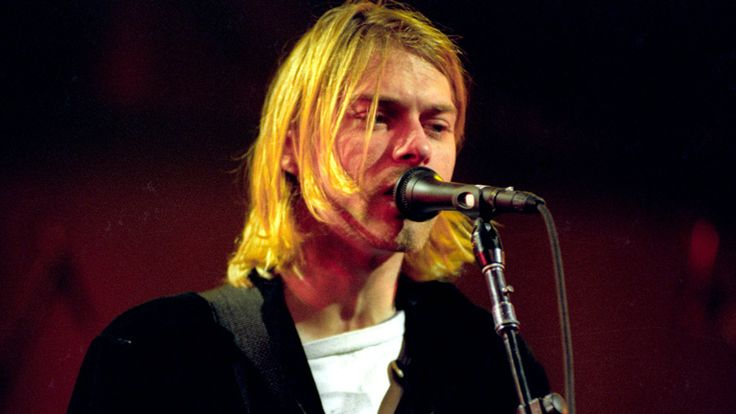 Kurt Cobain - Singer  of Nirvana