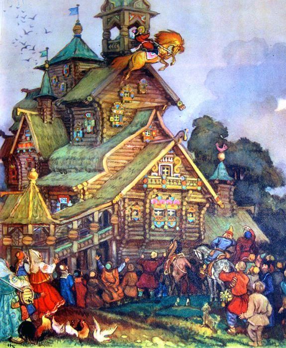 ۞ ۩   Russian Fairy Tales _illustrator Nikolai Kochergin