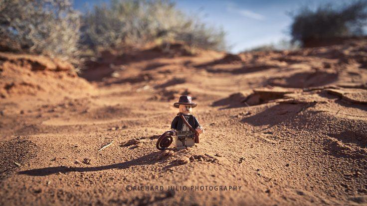 Indiana Jones and the Last Crusade - Lego macro photography series by Richard Julio Photography