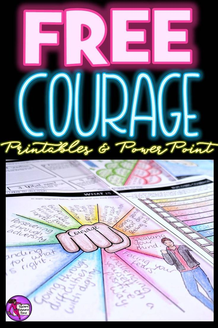 "Are you interested in being an inspirational teacher who helps your students develop good character and demonstrate courage? This courage resource is a great starting point that you can introduce into your morning meeting routine! You can get this for free right now by clicking the ""visit site"" button!"
