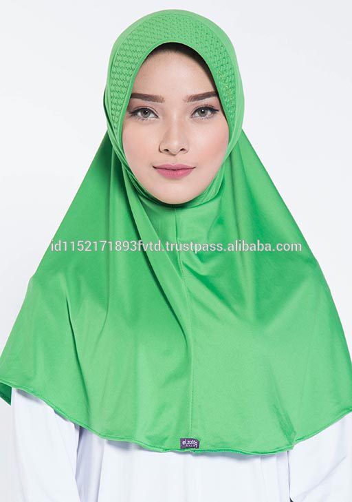 Hot 2017 Instant Hijab Elzatta Zaria M Almeria Green Hijab For The world