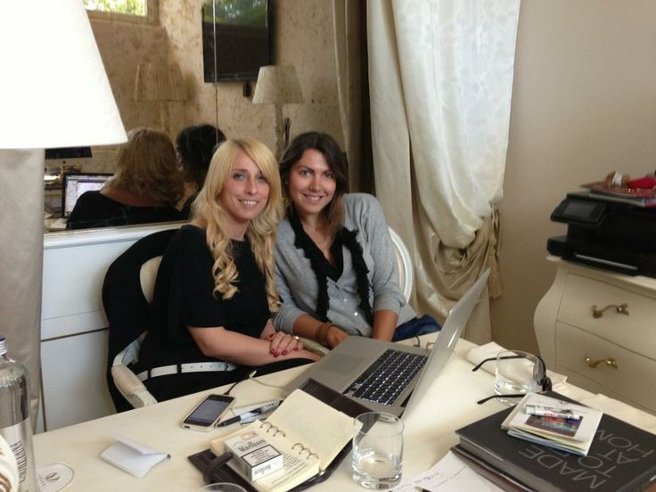 Me and Kristina # Forte dei Marmi# at work# www.fdmre.com