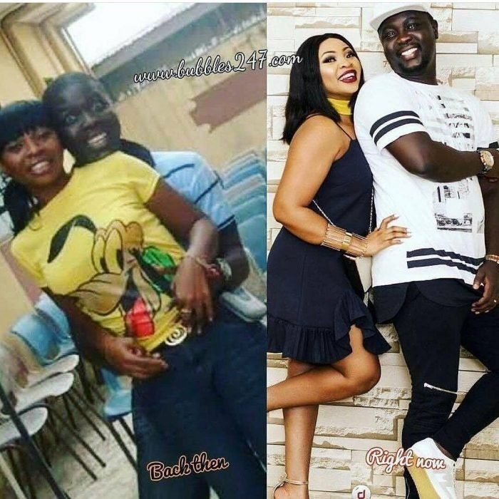 Epic Throwback Picture Of Seyi Law And His Wife