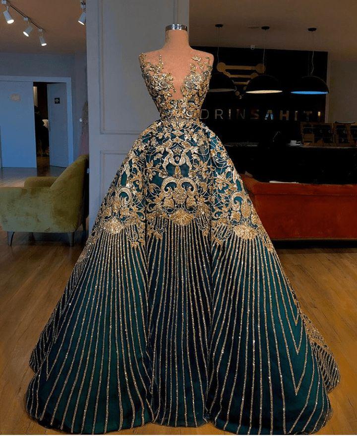 Valdrin Sahiti formal gown