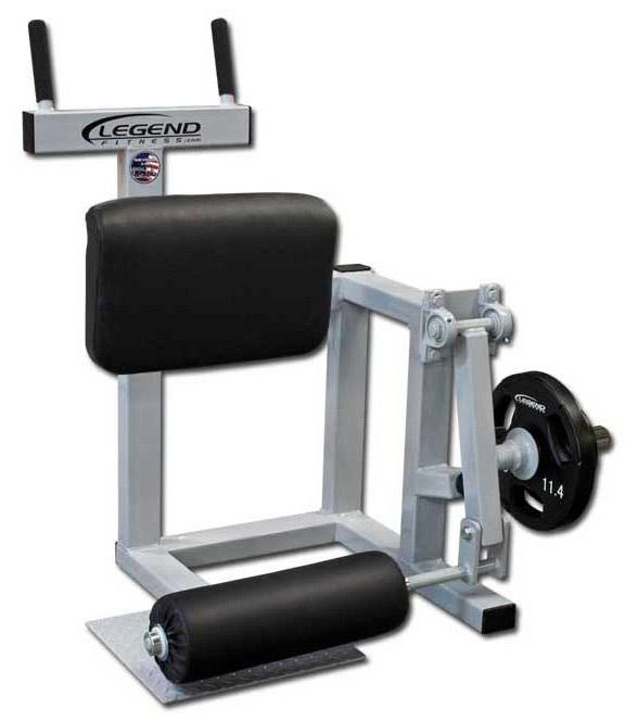 Legend Fitness 3175 Plate Loaded Standing Leg Curl For Hamstring Training