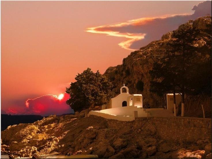 Lindos in Rhodes, Greece