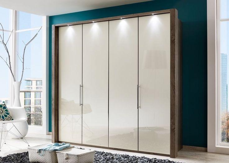 Perfect Kleiderschrank Loft Eiche mit Glas Magnolie Buy now at https