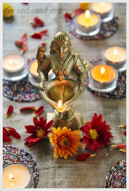 the east coast desi: Diwali Tablescape Inspiration - Day 2