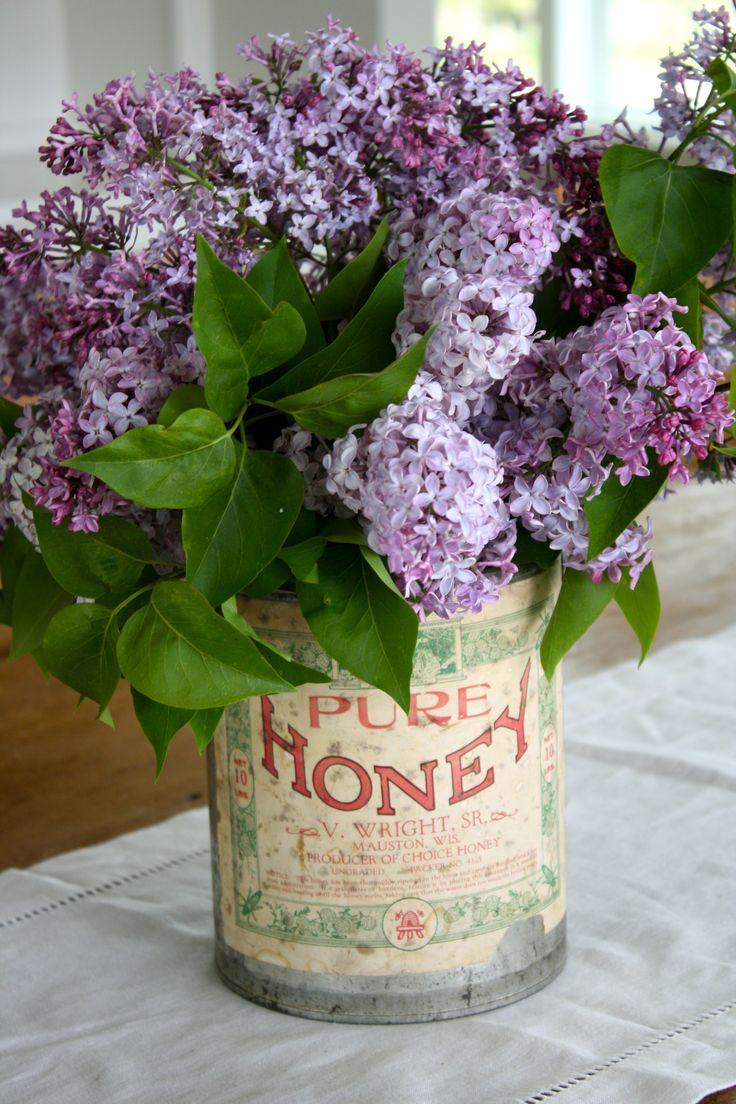 Wouldn't it be heavenly if lilacs bloomed all spring and summer???