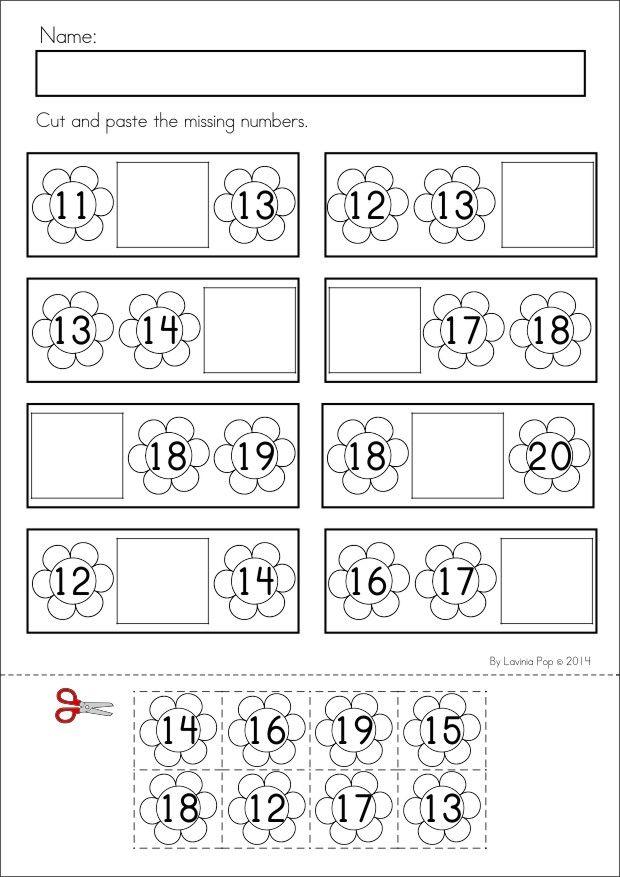 Número antes y después