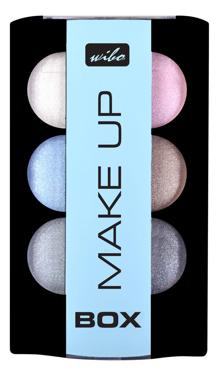 Make Up Box - zestaw METALICZNYCH CIENI #wibo #wibopl #wibokosmetyki #eyeshadows