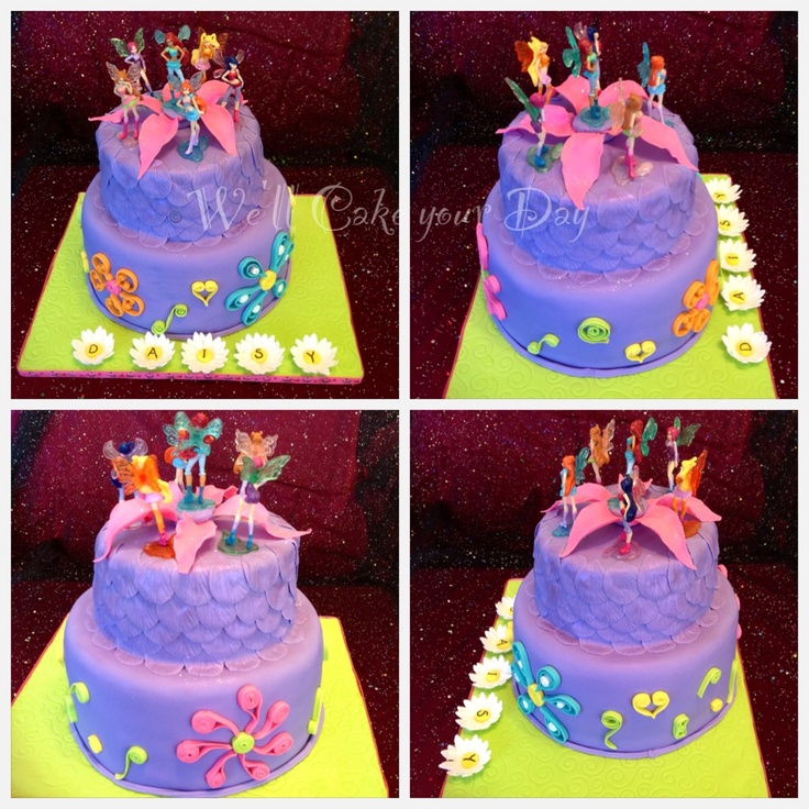 Cake Design Winx : Winx fairy club cake Girls birthday ideas Pinterest ...