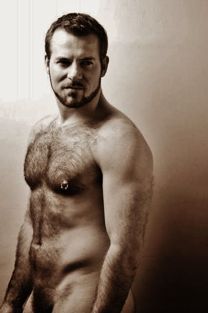 Hairy Men. Beards. Fur. Woof!