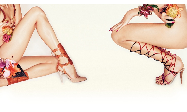 Awesome campaign for stilettos. Sergio Rossi S/S 2012
