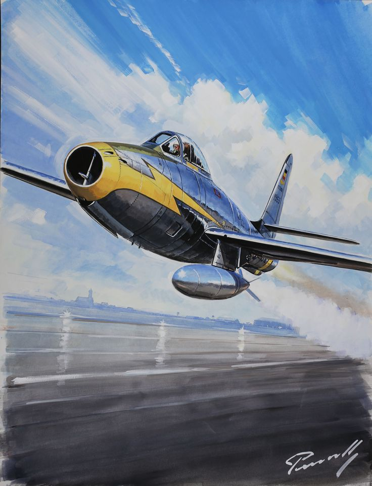 Republic F-84 Thunderjet (Lucio Perinotto)
