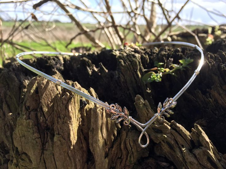 A personal favourite from my Etsy shop https://www.etsy.com/uk/listing/519857469/delicate-leaves-woodland-wedding-circlet