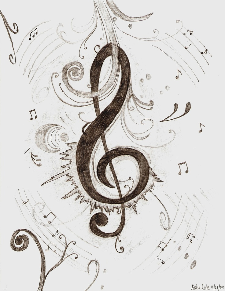 THIS is the best swirly-like treble clef I've seen yet!