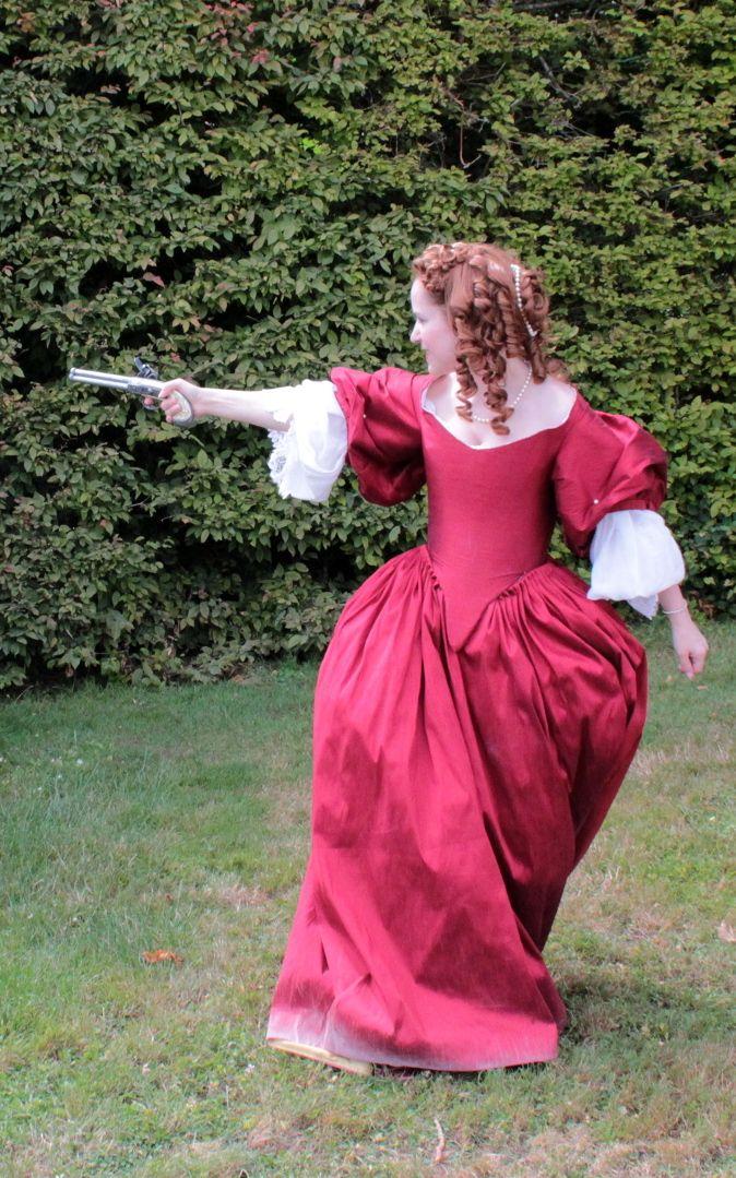 1660's dresses - Robes 17e siècle - Vaux le Vicomte. Persephoneia