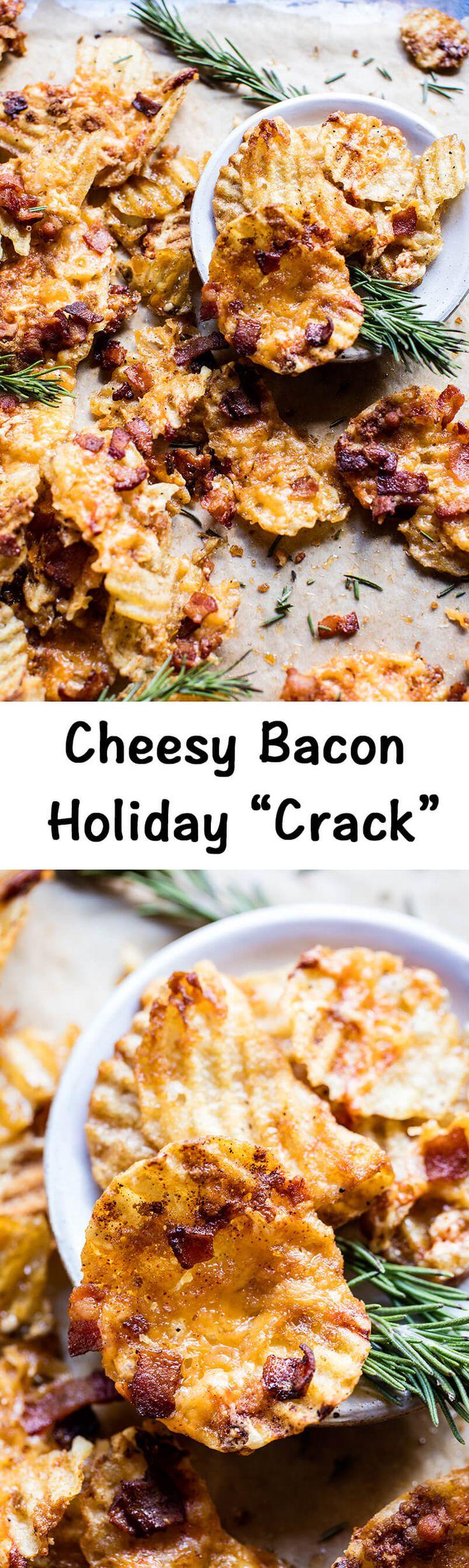 Cheesy Bacon Holiday Crack | halfbakedharvest.com @hbharvest