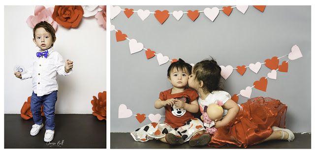 Mini sesiones de San Valentín para niños