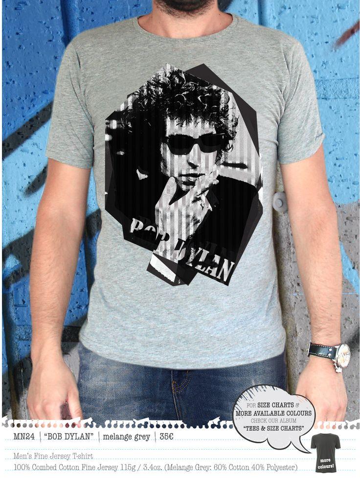 BOB DYLAN Men's t-shirt