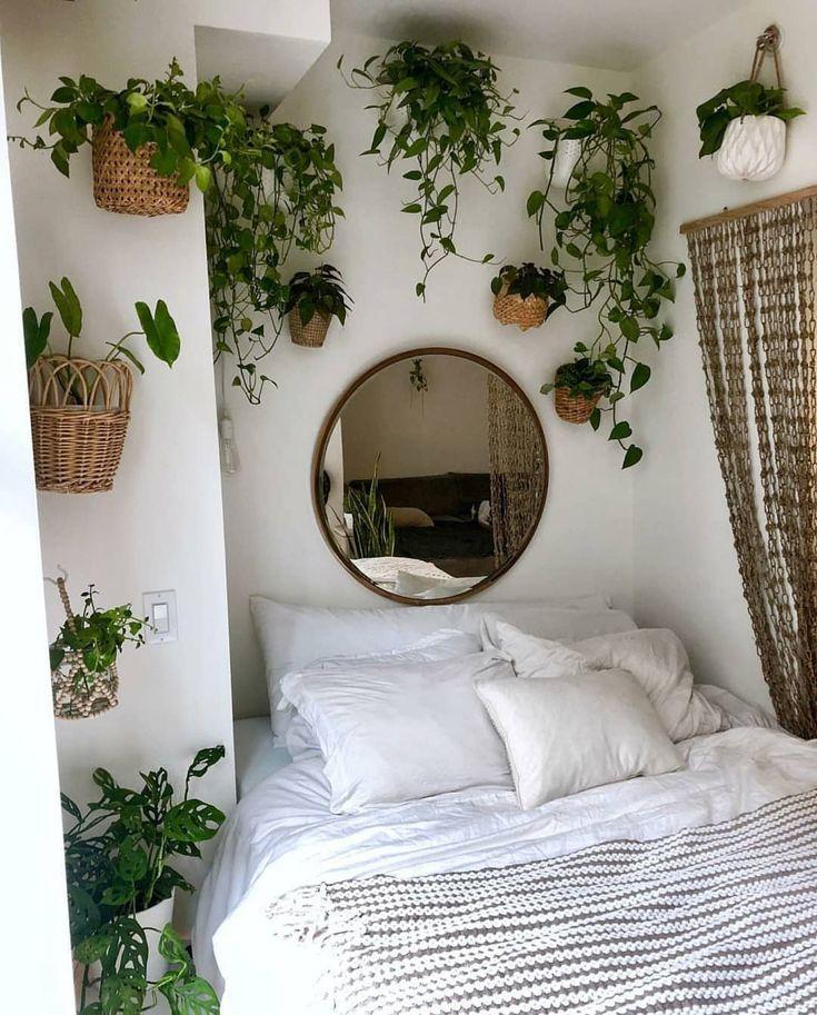 #green #plants #bedroom #aesthetic