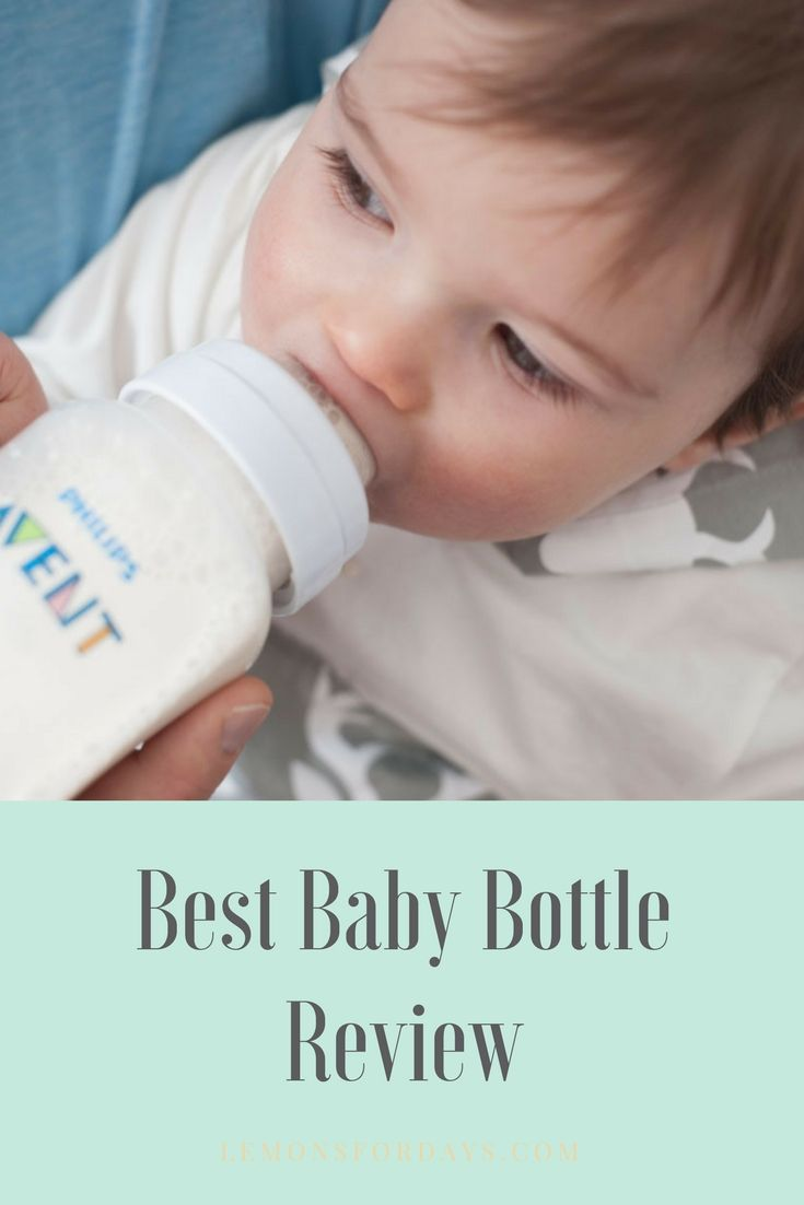 Bottle feeding has to be the best way to sneak in a little Mommy Me-Time! Find out the best bottle for a baby that's attached at the boob ;)   #ad www.lemonsfordays.com