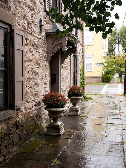 coolchicstylepensiero u201c (via Lifestyle u0026 Living  Old stone house Kingston - New York) u201d & 18 best Historic Kingston NY images on Pinterest | Hudson valley ... pezcame.com