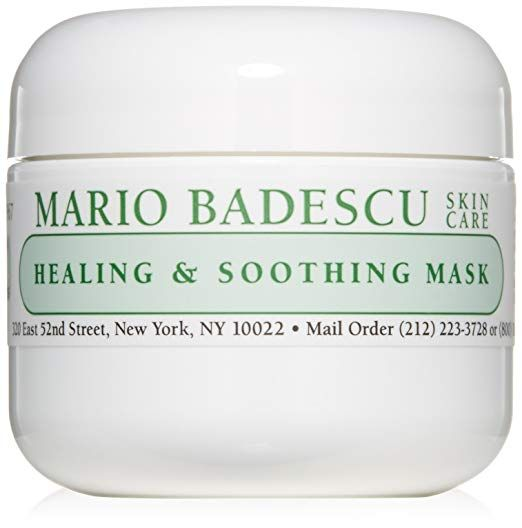 Mario Badescu Healing Soothing Mask 2 Oz Hydrating Face Mask Collagen Mask Face Hydration