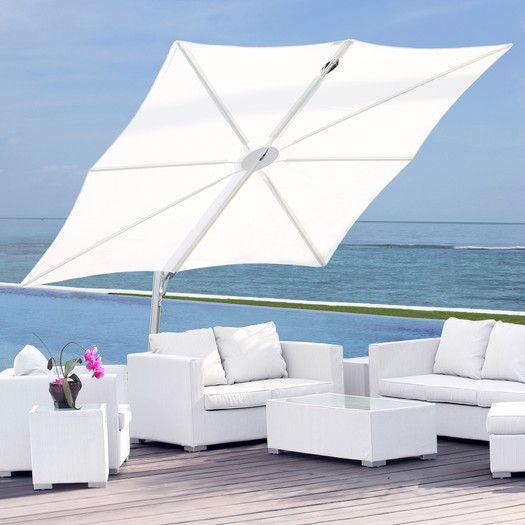 "Umbrosa 8'2"" Spectra Square Cantilever Umbrella"