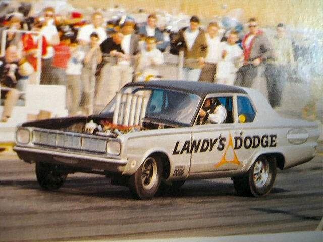 Dandy Dick Landy's Dodge Dart. Say THAT three Xs real fast!