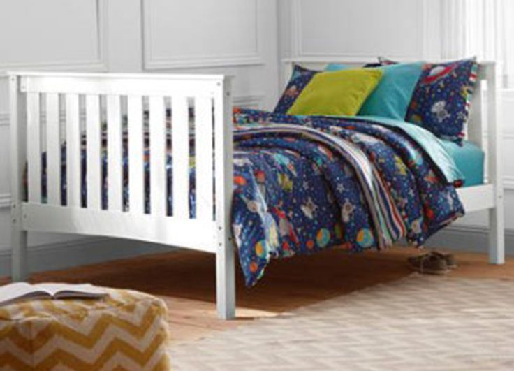 Better Homes And Gardens Pine Creek Kids Full Bed, White Finish