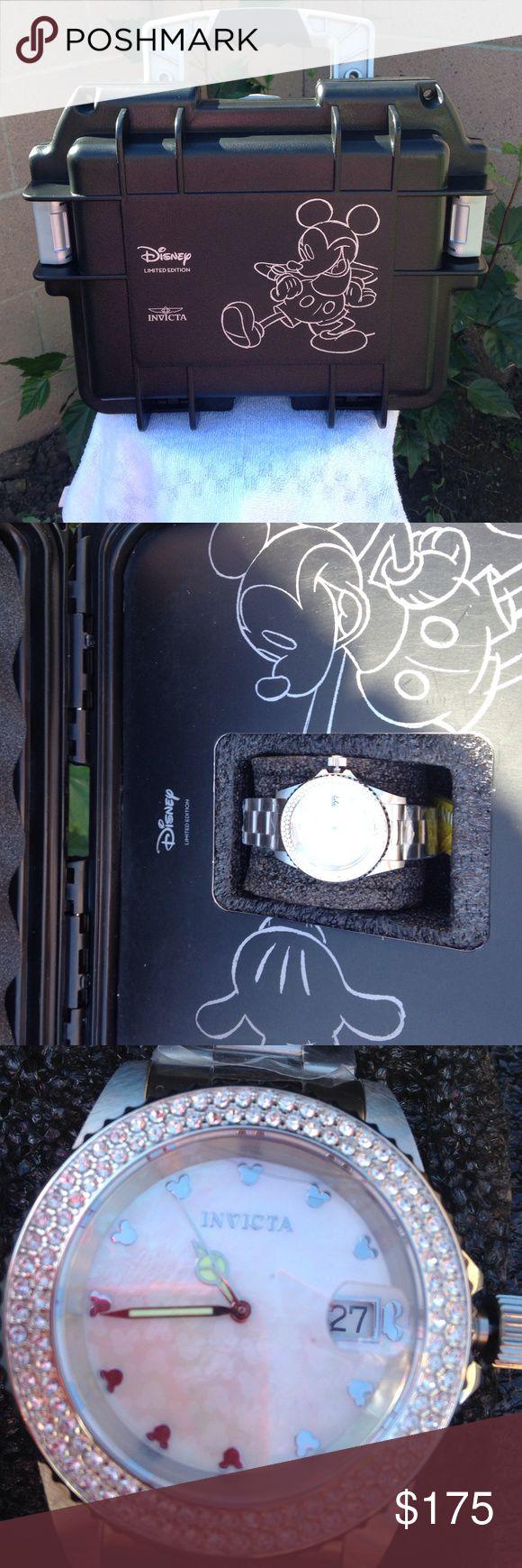 NIB Invicta Mickey Watch NIB Invicta Numbered LIMITED EDITION MICKEY Watch. INVICTA Accessories Watches