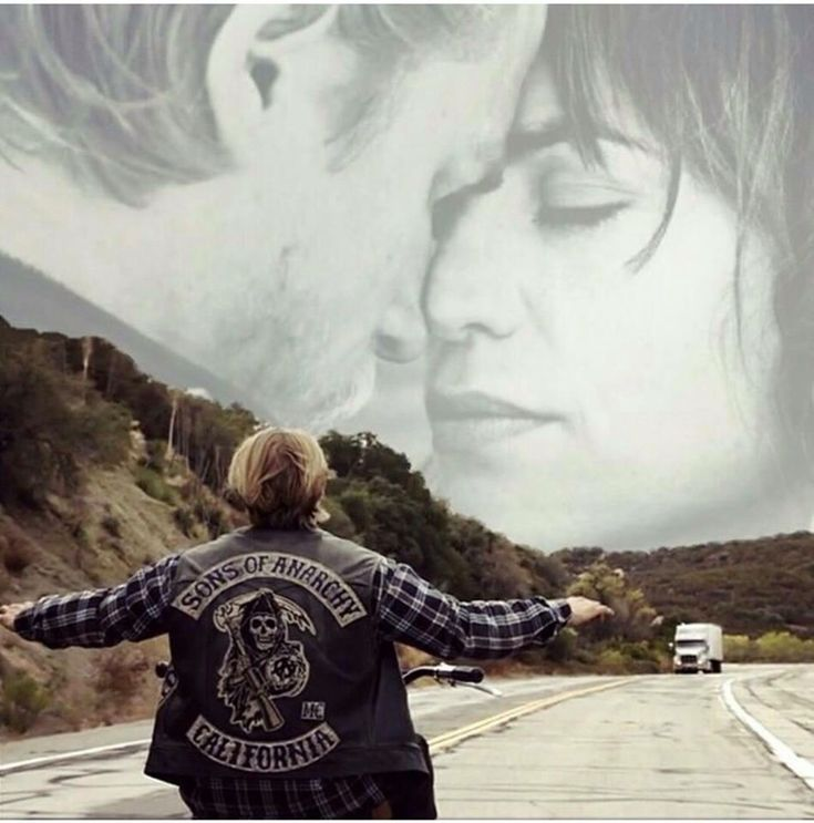 I wanted for them to stay together. This picture is a good ending. Sons Of Anarchy. I love this picture!!