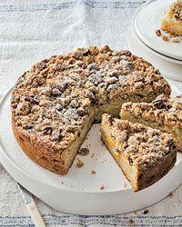 Peach Streusel Cake Recipe on Food & Wine