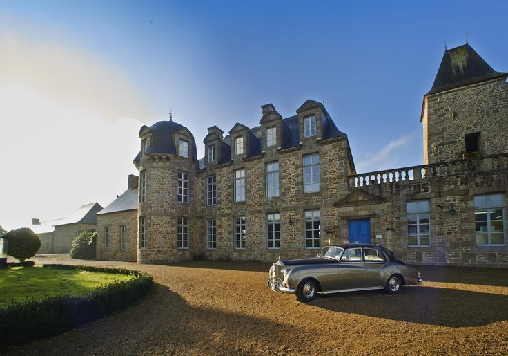 Le Château du Bois Guy Hotel.  Normandy, France.