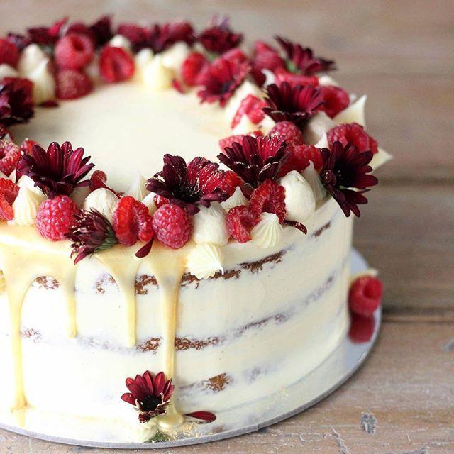 White Chocolate Raspberry Mud Cake Thermomix