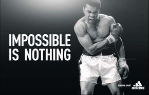 Adidas Ads Impossible Is Nothing