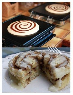 Rollos de canela hotcakes, encuentra el paso a paso en... http://www.1001consejos.com/diy-para-cocina/