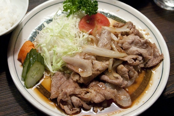 深夜食堂 - 「生姜焼き定食」
