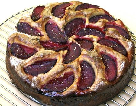Recipes for italian plum cake