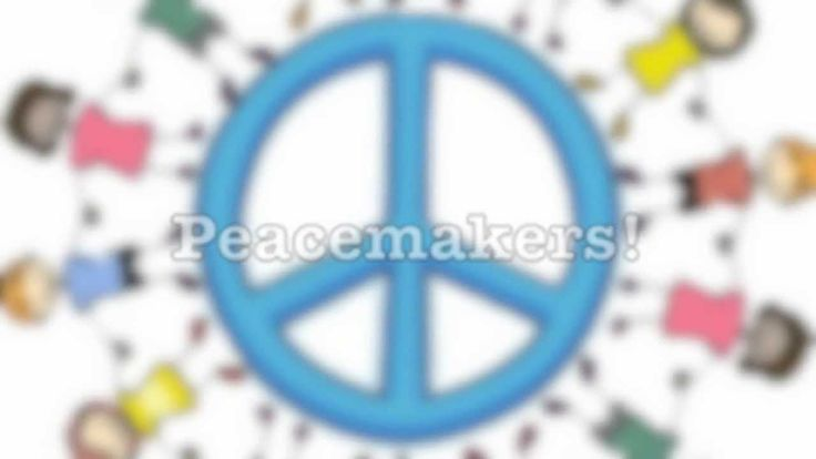 We can be peacemakers! By: Kindergarten Students
