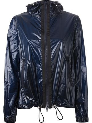 Sacai Luck Hooded Rain Jacket - Luisa Boutique - Farfetch.com