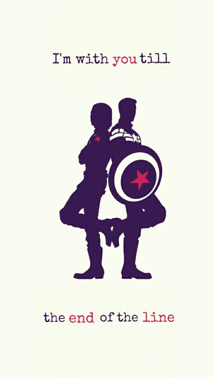 Cute Stucky Iphone Wallpaper I M With You Till The End Of The Line Iphone Wallpaper
